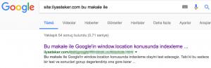 google javascript-window.location result