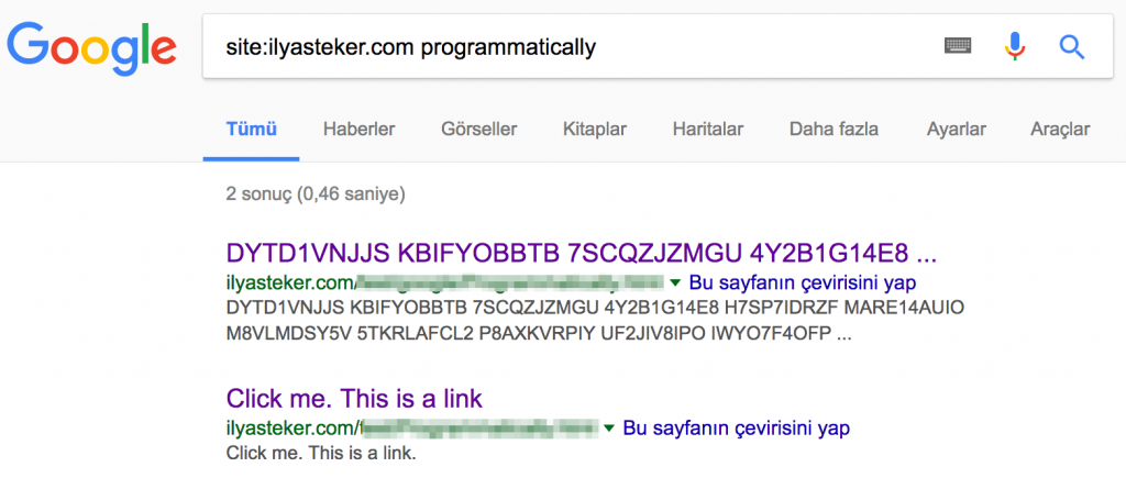 programmatically js google seo
